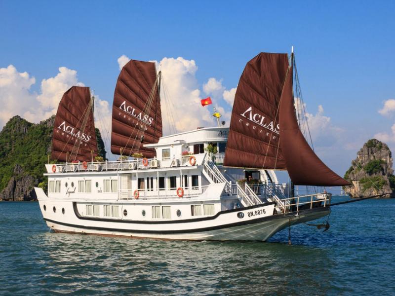 Tàu Aclass Legend Vịnh Hạ Long