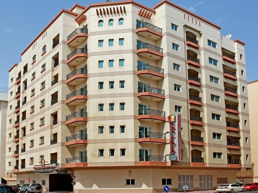 Best price on rose garden hotel apartments bur dubai in for 4 star hotels in dubai