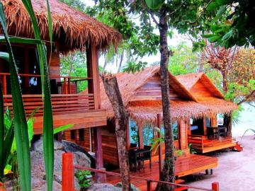 Ten Moons Lipe Resort Unterkunft