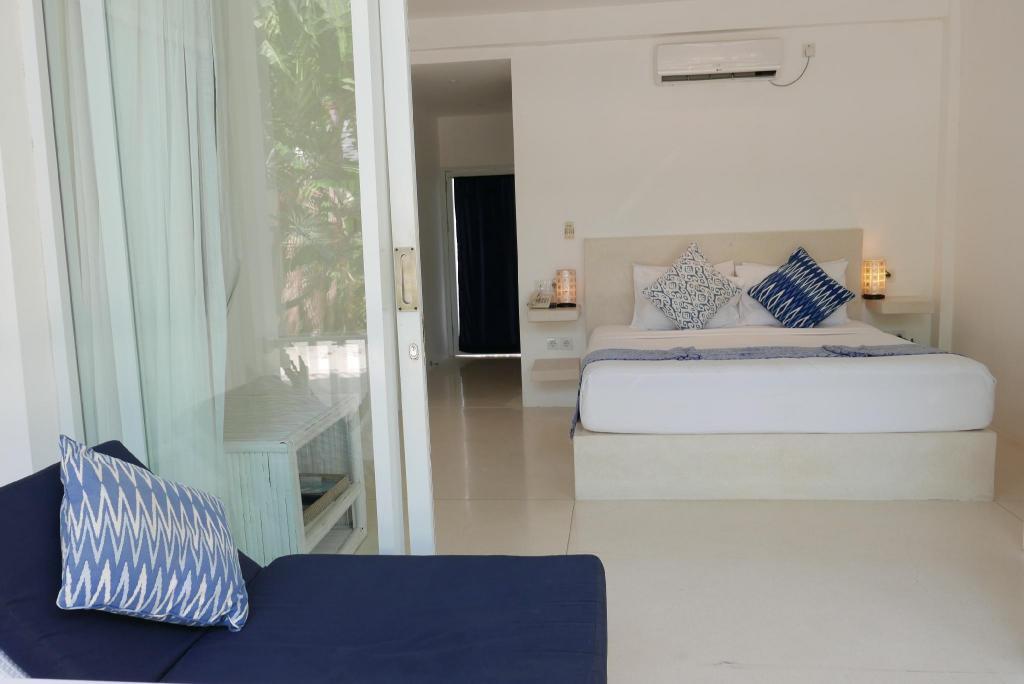 Kamar penginapan di Seri Resort Gili Meno