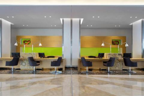 Reception Area at Le Meridien Cairo Airport