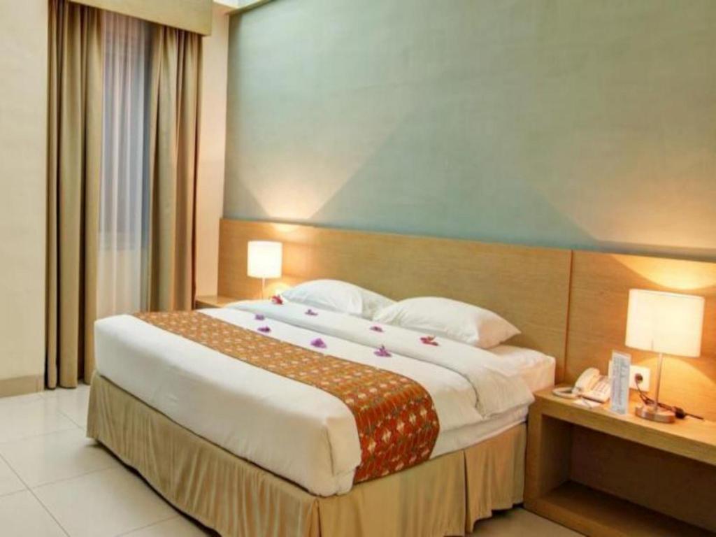 Kamar penginapan di Hotel Luwansa