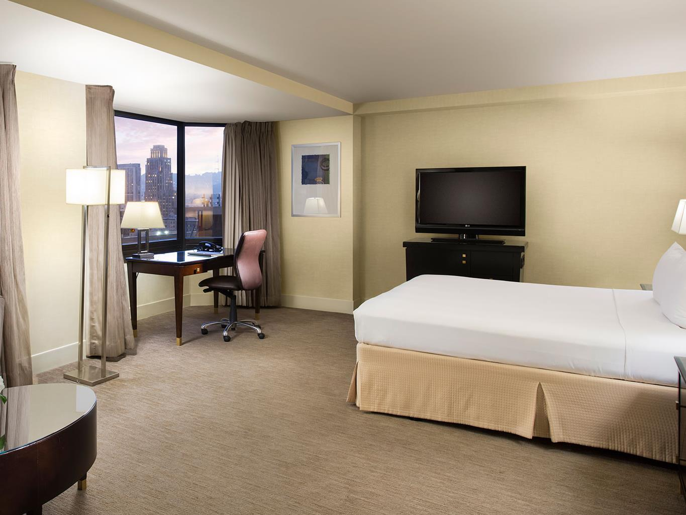 1 King Bed Junior Suite - Free Internet In Public Areas