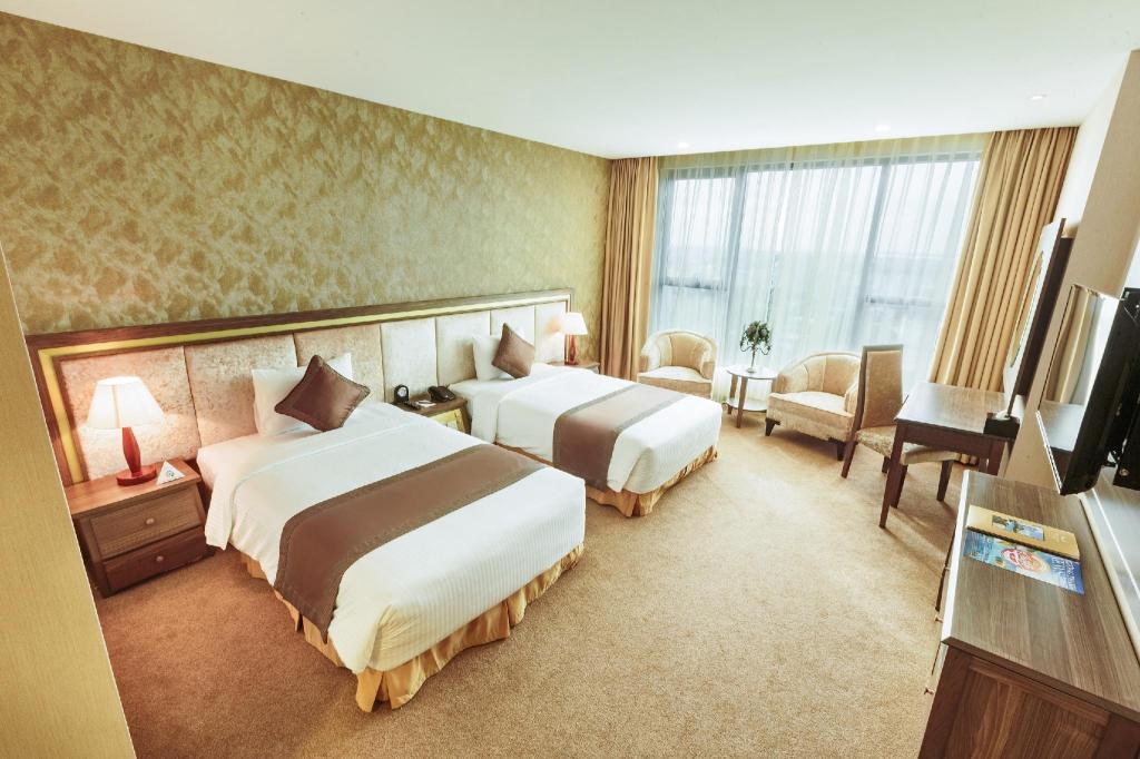 Phòng Deluxe 2 giường - Giường