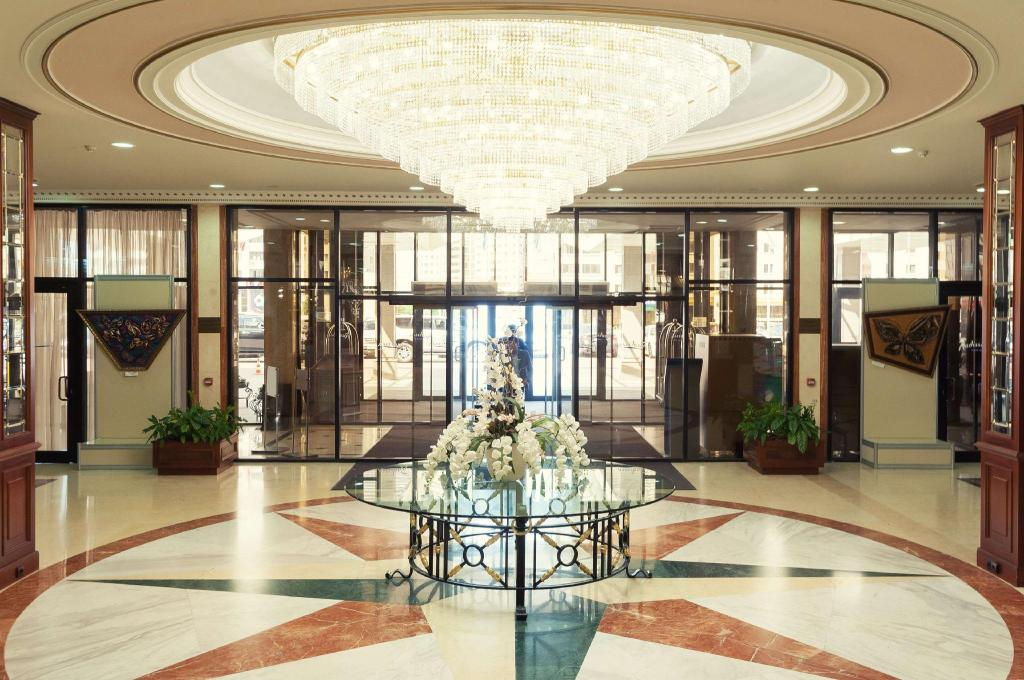 阿斯塔纳丽笙酒店大厅
