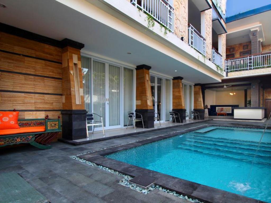 Best price on lotus tirta seminyak hotel in bali reviews for Best hotels in seminyak