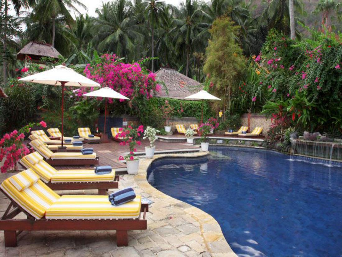 Best Price On The Water Garden Hotel Bali In Bali Reviews