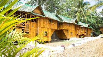 Bamboo house 3 - 2 rooms private bathroom @Nirvana