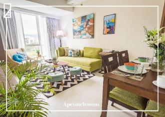 Ayala Apartment Airy Curated Cebu Home for 10 pax