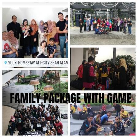FAMILY GAME &FREE 3UNIT 1BEDROOM@YuukiHomestay T54 Shah Alam
