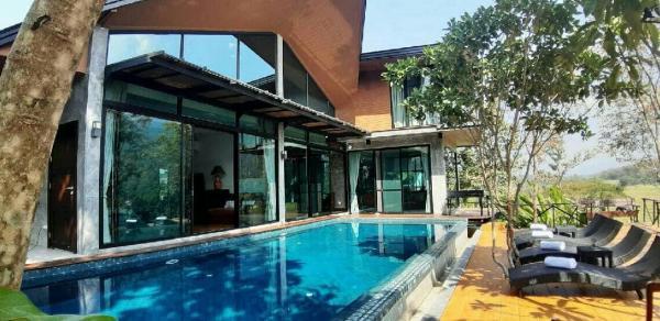 Pool villa Modern style private swimming pool Chiang Mai