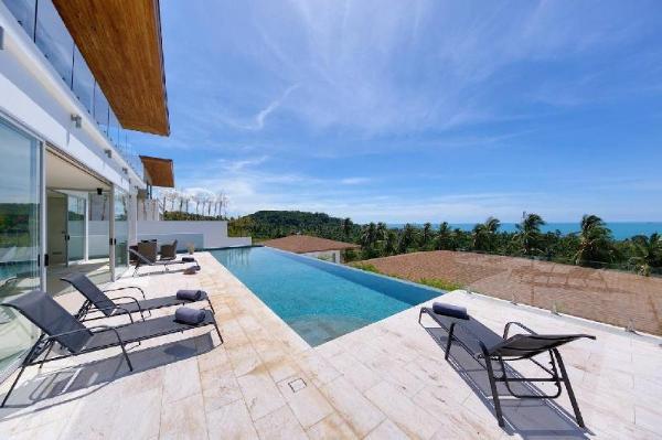 6 Bedroom Luxury Seaview Villa Lilac - Bang Po Koh Samui
