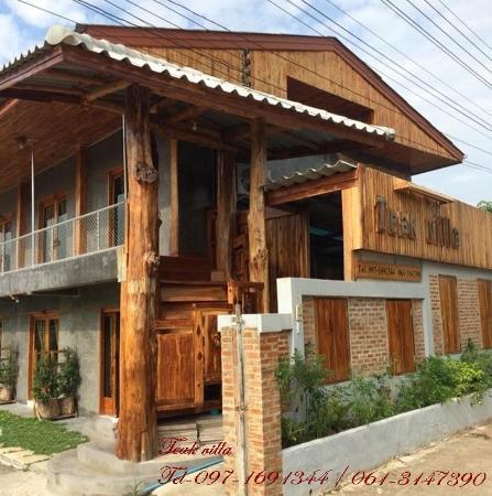 Teak villa Thoeng