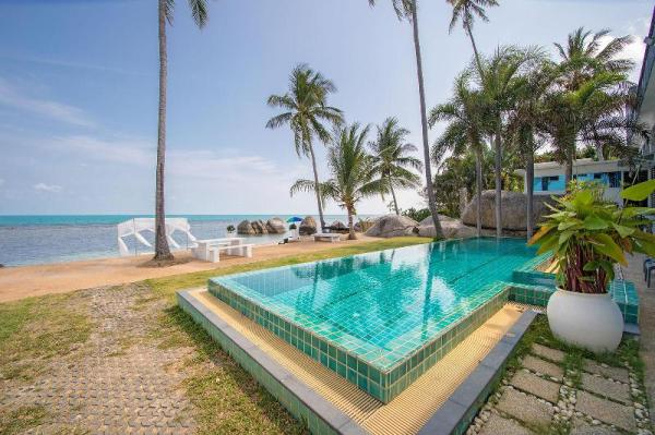 Beachfront loft style villa with private pool Koh Samui