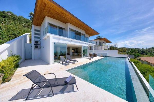 6 Bedroom Luxury Seaview Villa Asti - Bang Por Koh Samui