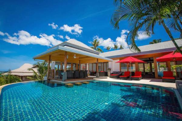 Villa La Vue 5 BDRM Sea View Private Pool Koh Samui
