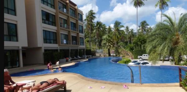Maenam 1Bed Condo with Kitchen Large pool & Gym Koh Samui