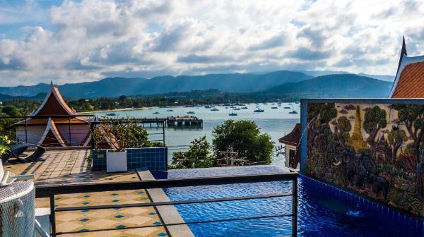 Celebrity Ocean View Villa Koh Samui