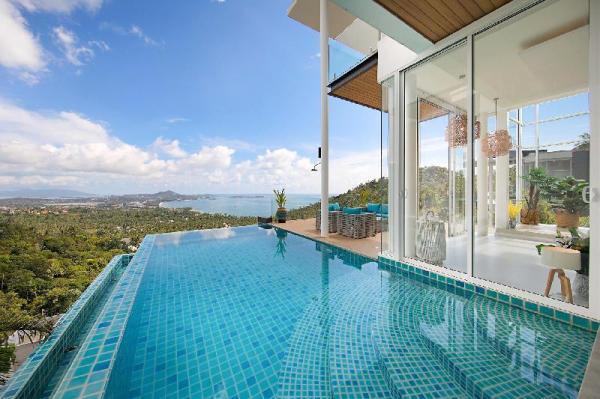 Stunning Blue Sea Villa 3BDRM Infinity Pool Koh Samui