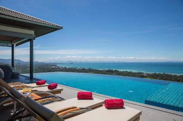Baan View Talay - Classical luxury sea view villa Koh Samui