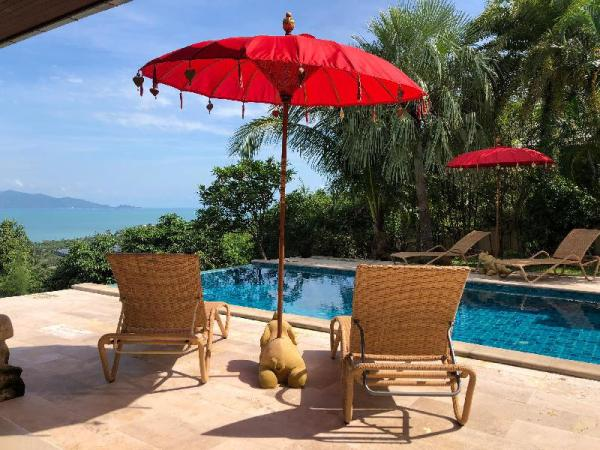 Villa Jolie - Best Sea & Mountain View Villa Koh Samui