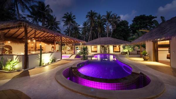 Baan Maprao, 2 exclusive villas, up to 20 guests!! Koh Phangan
