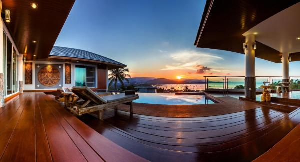 Sunset Pool Villa at Pier, Center of main facility Koh Samui