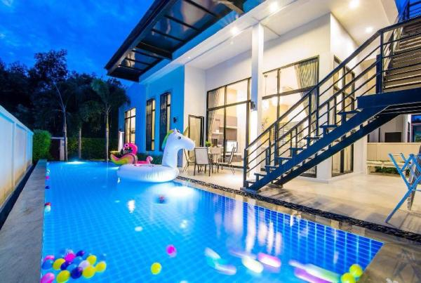 Hua Hin Private house with pool near the sea (LK) Hua Hin