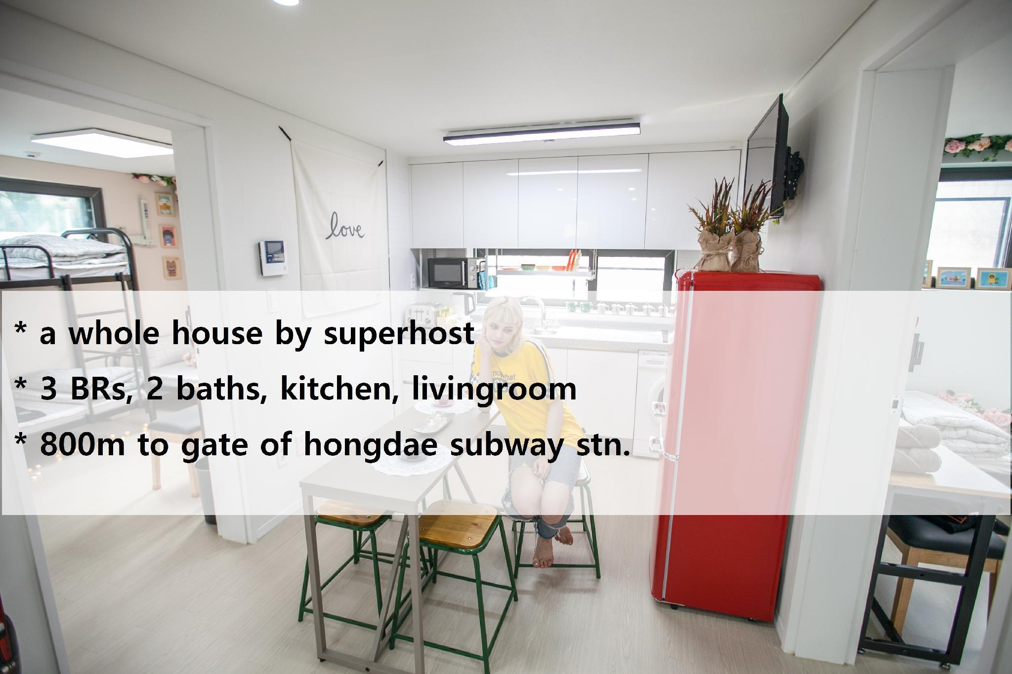 hongdae apartment-best place-new2