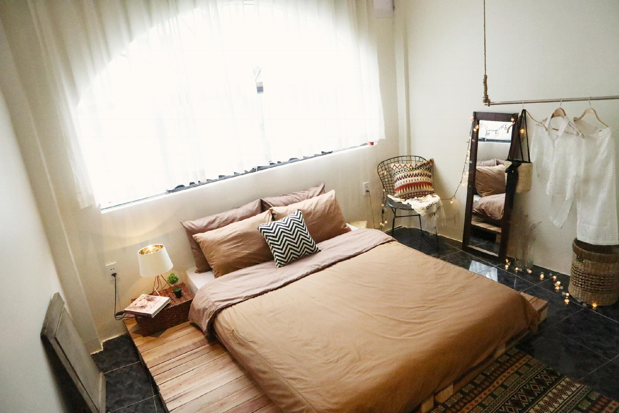 Hygge Entire 2BRs Home-Artistic-5m to BenThanh mkt