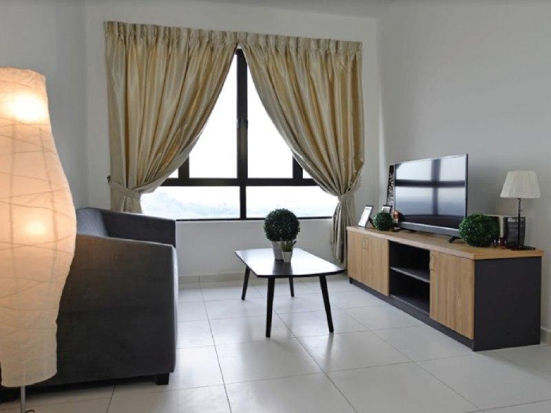 Chung cư 850 m² 3 phòng ngủ, 2 phòng tắm riêng ở Ayer Keroh