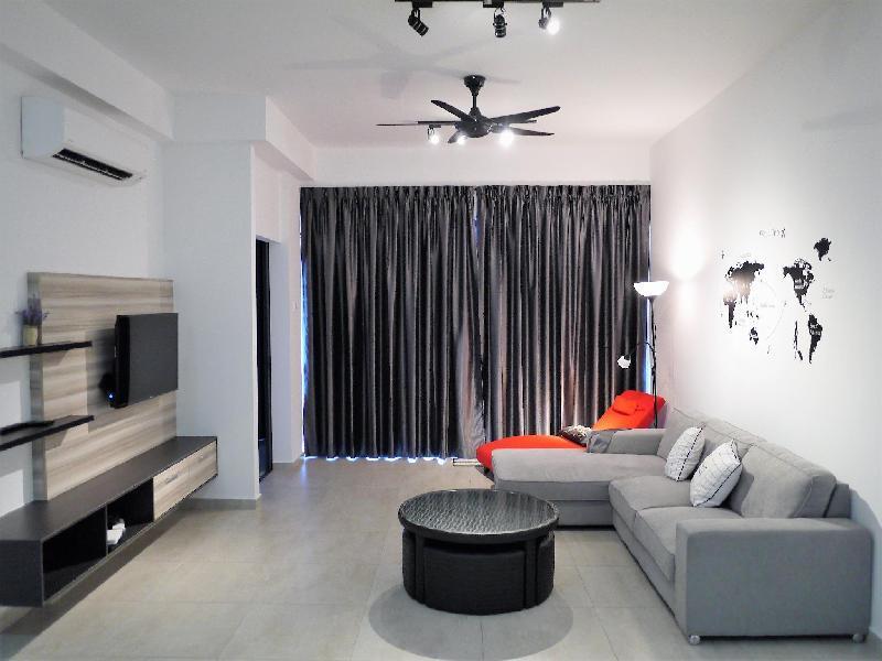 Chung cư 90 m² 2 phòng ngủ, 2 phòng tắm riêng ở Trung tâm Malacca