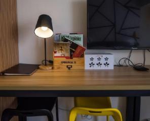 Chambre de la suite Deluxe Jinsha Modern City Apartment