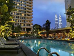 Federal Hotel Kuala Lumpur - Pool View Night Scene