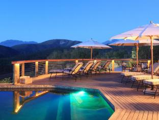 Botlierskop Private Game Reserve Mossel Bay - Pool and Deck Area at Night