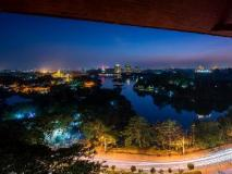 Chatrium Hotel Royal Lake Yangon: view