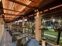 Chatrium Hotel Royal Lake Yangon: fitness room