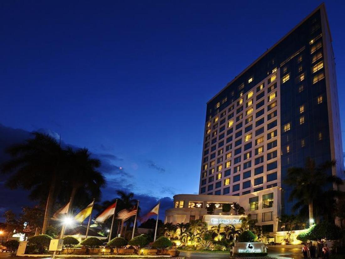 Hotellet udefra