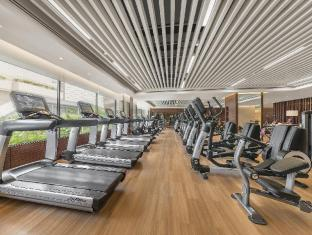 Edsa Shangri-La Manila Manila - Health Club's Up-to-the-Moment Cardio Section
