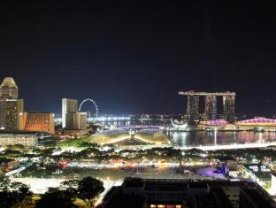 Peninsula Excelsior Hotel Singapur - Aussicht