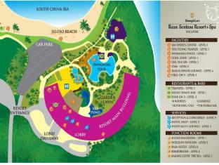 Shangri-La's Rasa Sentosa Resort & Spa Singapore - Resort Plan for guest