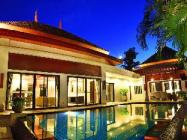 家庭泳池別墅