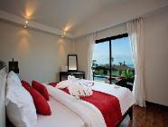 2 ložnice s výhledem na moře