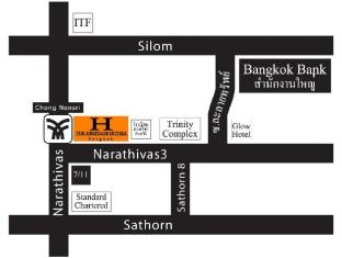 The Heritage Silom Hotel Bangkok - Map