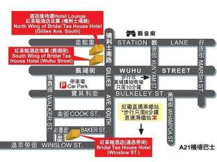 Bridal Tea House Hung Hom Winslow Hotel Hong Kong - Location map