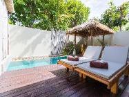 1 hálószobás villa medencével