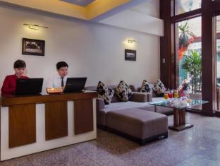 Hanoi Elegance Ruby Hotel Hanoi - Travel desk in lobby area