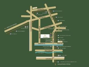 Amanta Hotel & Residence Ratchada Bangkok - Map