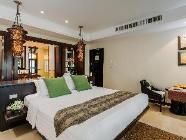 Villa med Kingsize-seng og plunge pooll