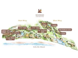 Katathani Phuket Beach Resort Phuket - Floor Plans